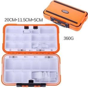 HENGJIA qt020 Waterproof Multifunction Fishing Tool Gear Storage Hooks and Fishing Bait Box , Large Size: 20 x 11.5 x 5cm
