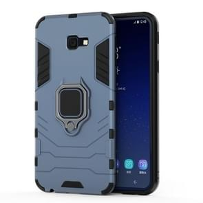 PC + TPU Shockproof Protective Case for Galaxy J4+, with Magnetic Ring Holder