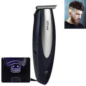 Ufree U-366 Professional Bald Hair Clipper Engraved Text Small Hair Clipper Hair Trimmer, EU Plug