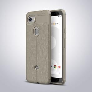 Litchi Texture TPU Shockproof Case for Google Pixel 3 Lite