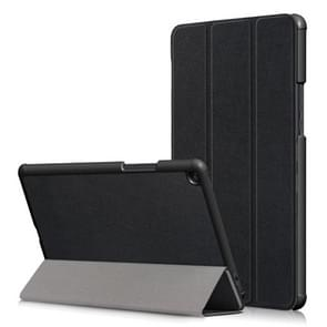 Custer textuur horizontale Flip lederen draagtas voor Xiaomi Mi Pad 4 Plus 10.1 duim  met drie-vouwen houder & slaap / Wake-up functie