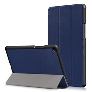 Custer Texture Horizontal Flip Leather Case for Xiaomi Mi Pad 4 Plus 10.1 inch, with Three-folding Holder & Sleep / Wake-up Function