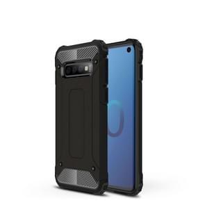 Magic Armor TPU + PC combinatie Case voor Galaxy S10 (zwart)