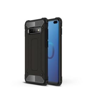 Magic Armor TPU + PC combinatie Case voor Galaxy S10 PLUS (zwart)