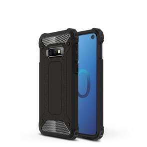 Magische Armor TPU + PC combinatie-Case voor Galaxy S10 Lite (zwart)