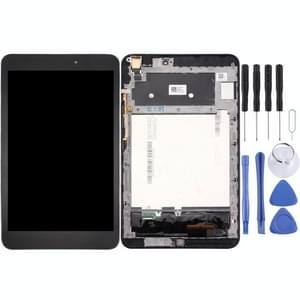 iPartsBuy Asus MeMO Pad 8 / ME581CL / ME581 LCD Screen + Touch Screen  Digitizer Assembly with Frame(Black)