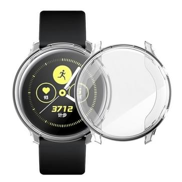 For Samsung Active Watch Full Coverage TPU Protective Case (Transparent)
