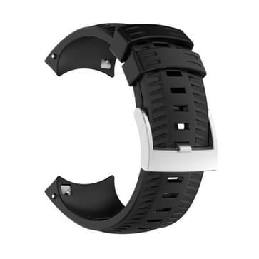 Silicone Replacement Wrist Strap for SUUNTO 9 (Black)