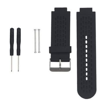 Silicone polsbandje van Sport voor de aanpak van de Garmin S2 / S4 (zwart)
