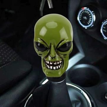 Alien vormige Universeel voertuig auto Shifter Cover handmatige automatische aluminium Gear Shift knop