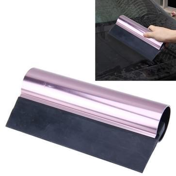 Auto Auto Body oppervlakte venster Wrapping Film zwarte Rubber schraper Sticker Tool zwart met roze metalen handvat