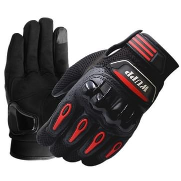 Motorfiets handschoenen Touch scherm Waterdicht ademend Wearable anti-slip weerstand zomer Winter Full-vinger beschermende handschoenen  maat: XL