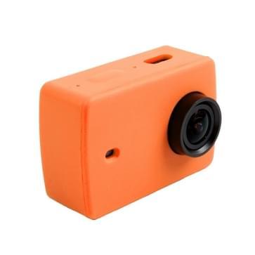 Siliconen gel beschermende omhulsel hoes voor Xiaomi Xiaoyi Yi II sport actie camera(Oranje)