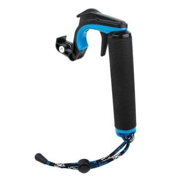 TMC HR391 Shutter Trigger drijvende hand greep / Duiken Surfen Buoyancy Stick met verstelbare anti-lost hand riem voor GoPro HERO 4/5 SESSION / (2018) 7 / 6 / 5 / 4 / 3+ / 3 / 2 / 1 Xiaomi Xiaoyi Sport Camera(blauw)