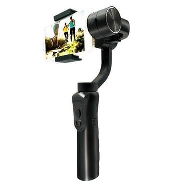 SOOCOO PS3 Bluetooth 3-assige gestabiliseerde handheld ophanging stabilisator voor smartphones (zwart)