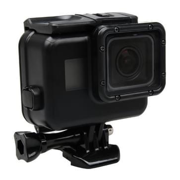 2 in 1 voor GoPro HERO 5 Touch scherm backcover + 45m Waterdicht huisvesting beschermings hoesje (No moet demonteren Lens wanneer ge