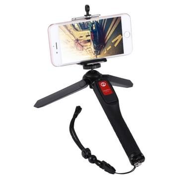 Letspro LY-11 3 in 1 Handheld statief zelfportret Monopod uitschuifbare Selfie Stick met Remote Shutter voor Smartphones digitale camera's GoPro sport camera 's