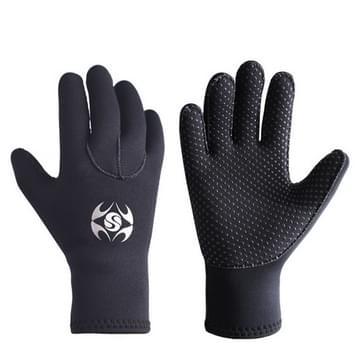 SLINX 1127 3mm neopreen non-slip slijtvaste warm duiken handschoenen  maat: L