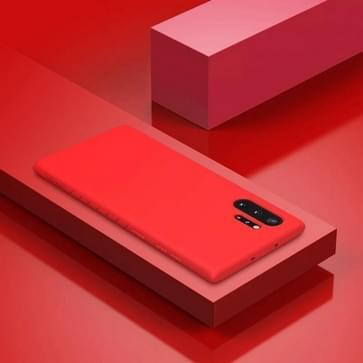 Voor Galaxy Note 10 + NILLKIN rubber verpakt TPU beschermhoes (rood)