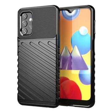 Voor Samsung Galaxy A32 Thunderbolt Shockproof TPU Protective Soft Case(Zwart)