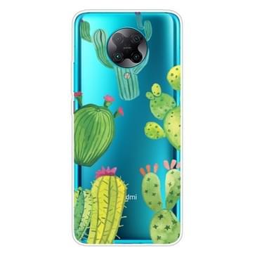 Voor Xiaomi Redmi K30 Pro Shockproof Painted Transparent TPU Protective Case(Cactus)