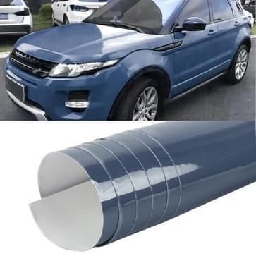 1.52 x 0.5m Auto Decoratieve Wrap Film Crystal PVC Body Changing Color Film (Crystal Blue)