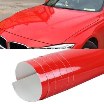 8 x 0 5 m Auto Decoratieve Wrap Film Crystal PVC Body Changing Color Film (Crystal Red)