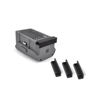 Voor DJI Mavic Air 2 STARTRC Drie stofdecoppen voor batterijen(zwart)
