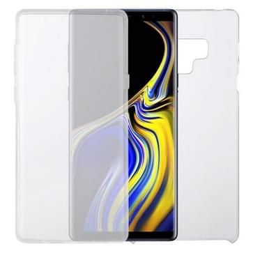 Voor Samsung Galaxy Note 9 PC+TPU Ultra-dunne dubbelzijdige all-inclusive transparante behuizing