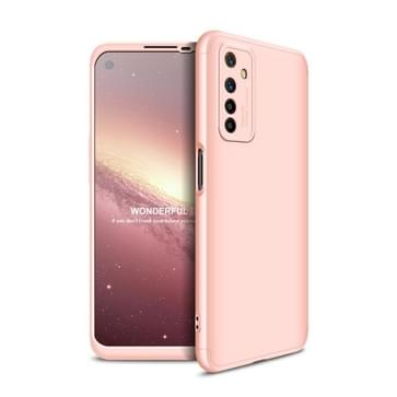 Voor OPPO Realme 6 GKK Three Stage Splicing Full Coverage PC Protective Case (Rose Gold)
