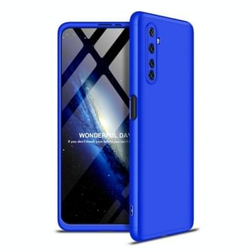 Voor OPPO Realme 6 Pro GKK Three Stage Splicing Full Coverage PC Protective Case(Blue)