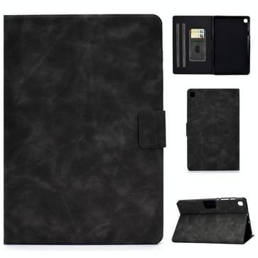 Voor Samsung Galaxy Tab S6 Lite P610/P615 Cowhide Texture Horizontale Flip Lederen case met Holder & Card Slots & Sleep / Wake-up Functie(Grijs)