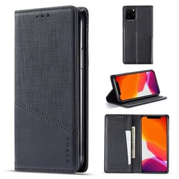 Voor iPhone 11 Pro MUXMA MX109 Horizontale Flip Lederen case met Holder & Card Slot & Wallet(Zwart)