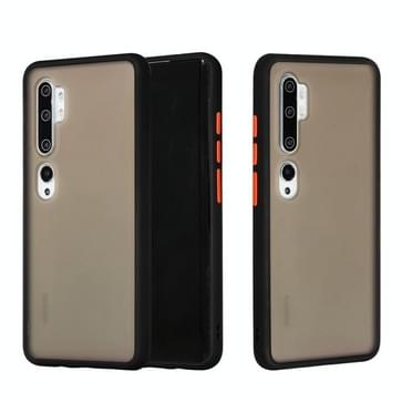 Voor Xiaomi Mi CC9 Pro Skin Hand Feeling Series Shockproof Frosted PC+ TPU Protective Case(Zwart)