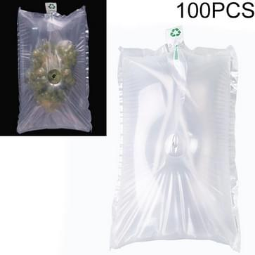100 PCS Grape Opblaasbare Tas Express Fruit Protective Bag Packaging Bag  Specificatie: 35x50cm