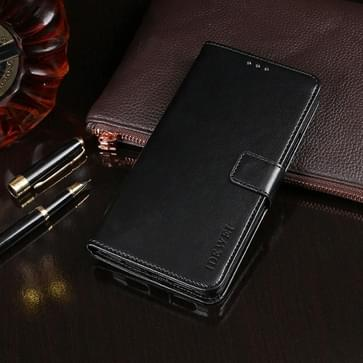 Voor DOOGEE X95 idewei Crazy Horse Texture Horizontale Flip Lederen Case met Holder & Card Slots & Wallet(Zwart)