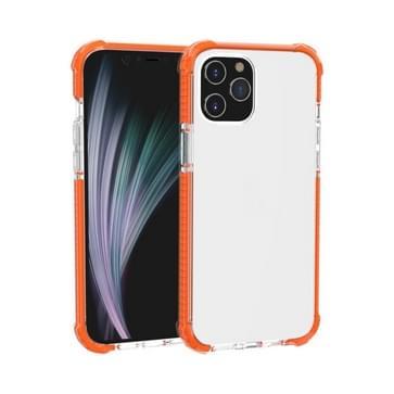 Voor iPhone 12 Pro Max Schokbestendige TPU + acryl beschermhoes(Oranje)