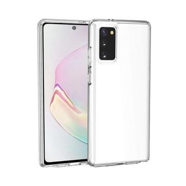 Voor Samsung Galaxy Note20 Schokbestendige Terminator Style transparante beschermhoes (transparant)