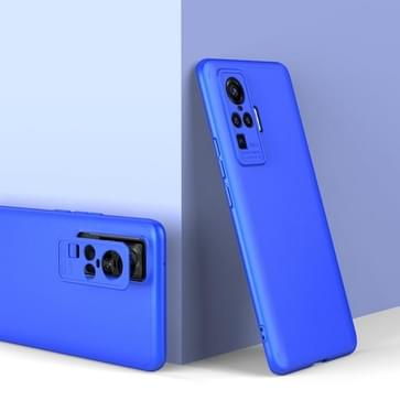 Voor vivo x50 Pro GKK Three Stage Splicing Full Coverage PC Protective Case(Blue)