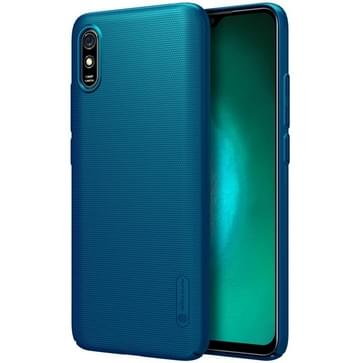 Voor Xiaomi Redmi 9A NILLKIN Frosted Concave-convex Texture PC Protective Case(Blauw)