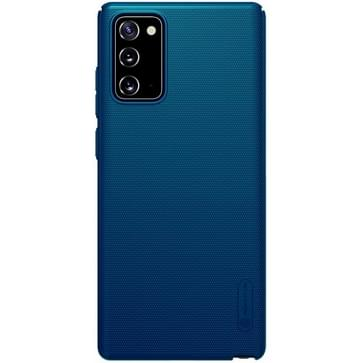 Voor Samsung Galaxy Note 20 NILLKIN Frosted Concave-convex Texture PC Protective Case(Blauw)