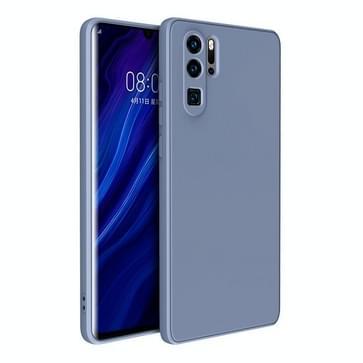 Voor Huawei P30 Pro Magic Cube Liquid Siliconen Schokbestendige volledige dekking beschermhoes (Lavender Grey)