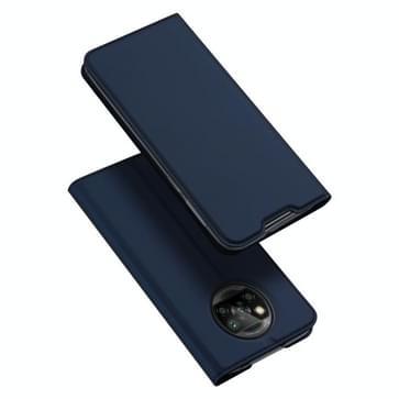 Voor Xiaomi Poco X3 NFC DUX DUCIS Skin Pro Series Horizontale Flip PU + TPU lederen hoes met Holder & Card Slots(Blauw)