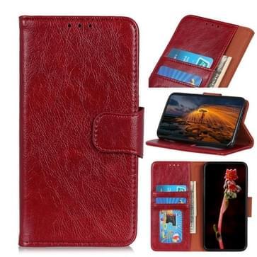 Voor Motorola Moto G9 Play / G9 / E7 Plus Nappa Texture Horizontale Flip Lederen case met Holder & Card Slots & Wallet(Rood)
