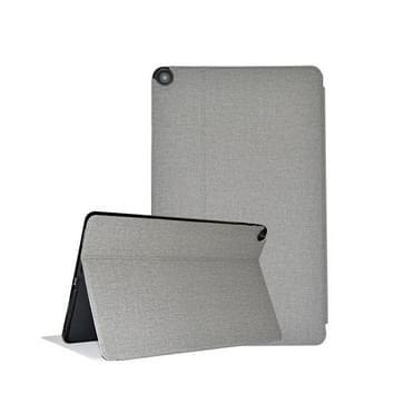 Voor ALLDOCUBE iPlay 30 Business Horizontale Flip Lederen beschermhoes met houder(Grijs)