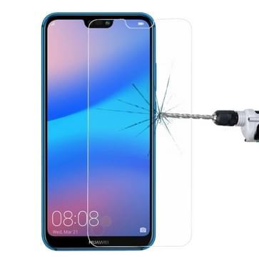 Voor Huawei P20 Lite 0 26 mm 9H oppervlaktehardheid 2.5D explosieveilige getemperd glas scherm Film