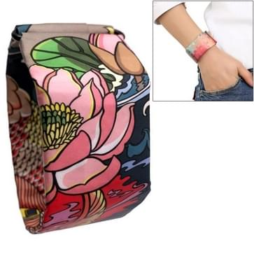 Brocade Fish Pattern Creative Fashion Waterproof Paper Watch Intelligent Paper Electronic Wristwatch