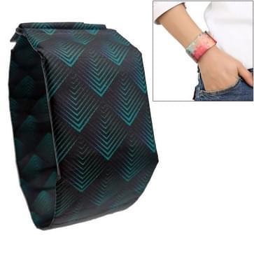 Diamond Pattern Creative Fashion Waterproof Paper Watch Intelligent Paper Electronic Wristwatch