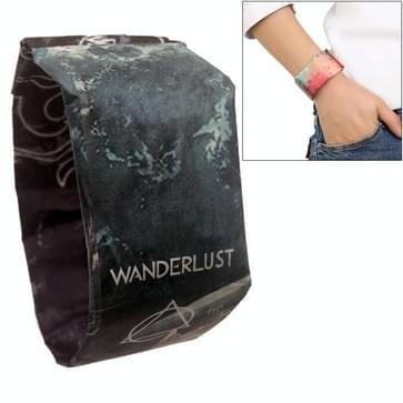 Whale Island Pattern Creative Fashion Waterproof Paper Watch Intelligent Paper Electronic Wristwatch