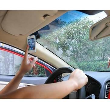HAWEEL universeel 360 graden draaibaar autoruit houder met 8 zuignappen voor iPhone 6 & 6 Plus / Smartphone(zwart)